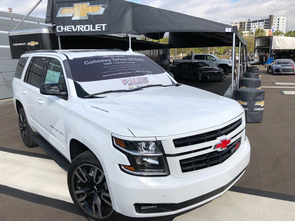 The Most Powerful Chevy Tahoe You Can Purchase Now Available With