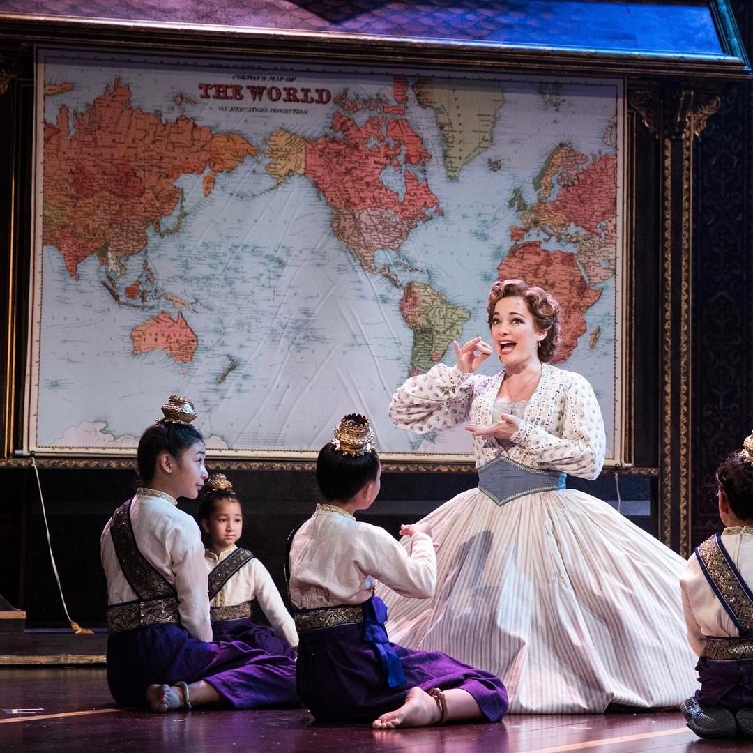 Laura Michelle Kelly plays Anna in THE KING AND I at ASU