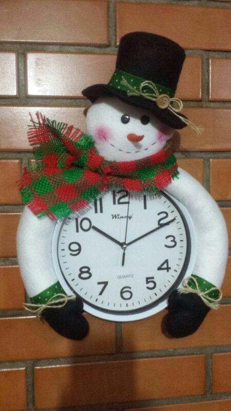 Boneco de neve de feltro cheias de gra a navidad for Adornos navidenos mercadolibre