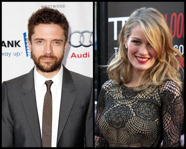 That 70s Show actor Topher Grace engaged to actress Ashley Hinshaw.  Congrats!