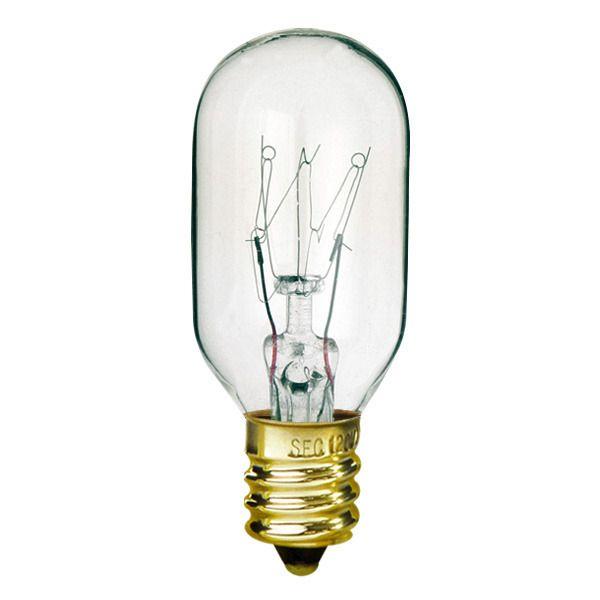 40 Watt T8 Bulb Candelabra Base 130 Volt Lampara