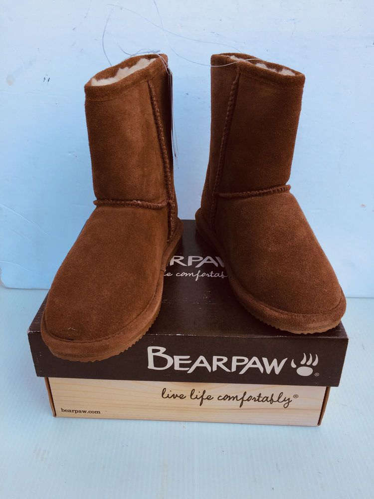 9c1d6d26c6e Bear Paw Eva Short Youth Boots Size 4 New with Tags in Box #fashion ...