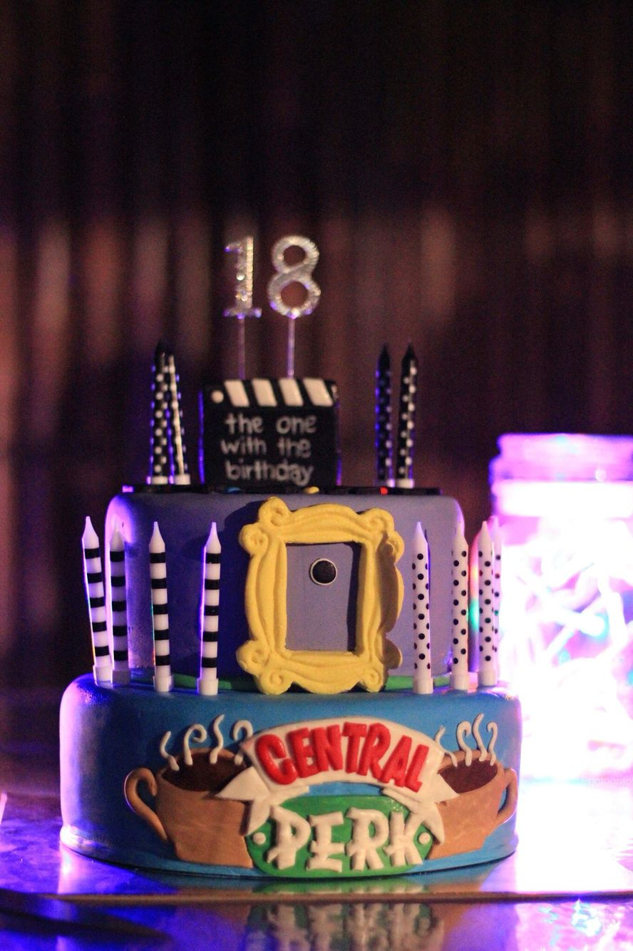 Tv Show Friends Themed Cake Susie S Enchanted Cakes