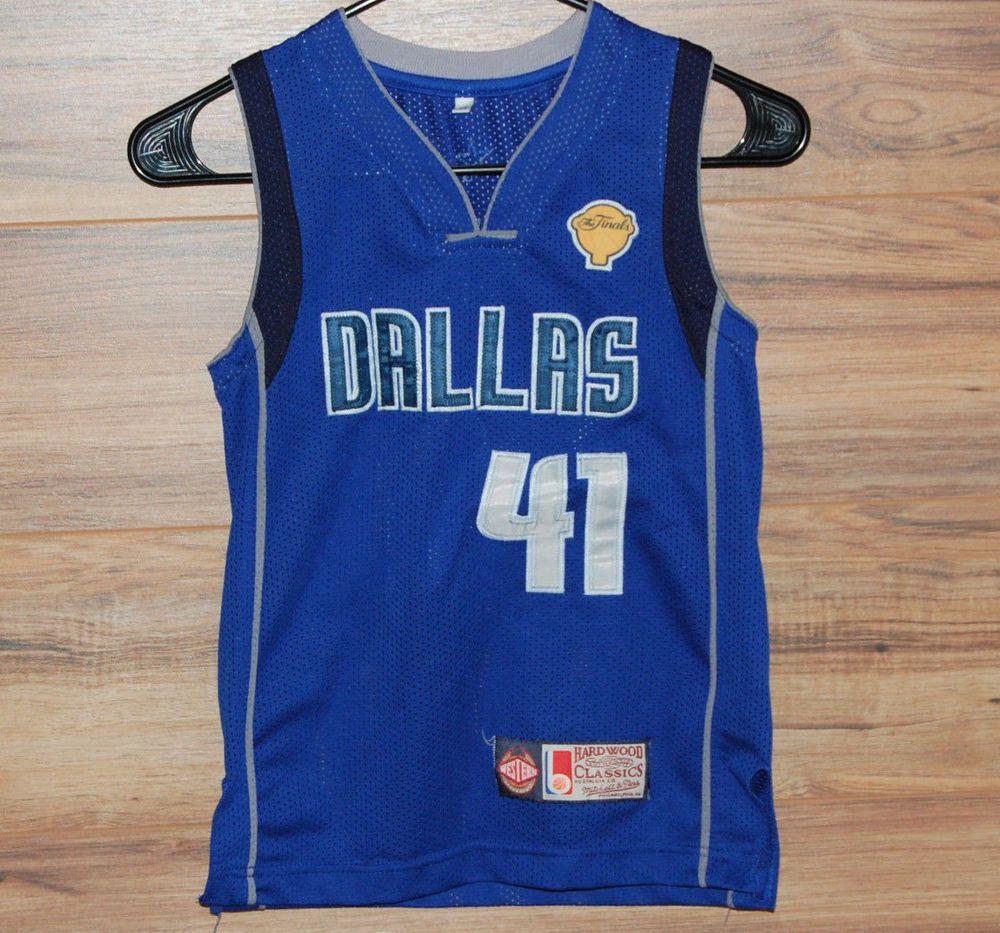 the best attitude f36e0 42ef2 Mitchell & Ness Hardwood Classics Dallas Mavericks Dirk ...