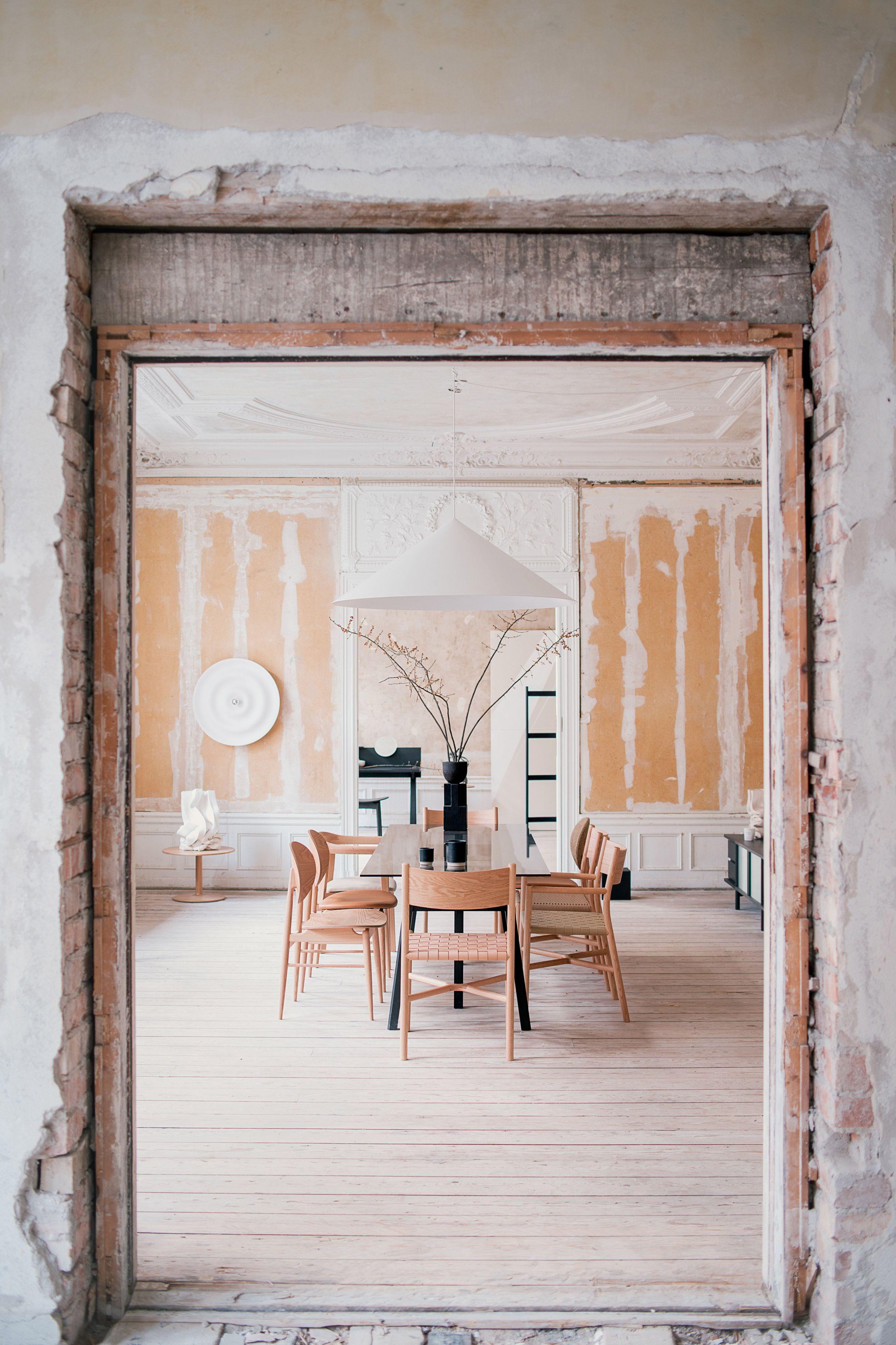 Charmant New Japanese Furniture Brand Ariake Presents First Range Inside Crumbling  Stockholm Embassy