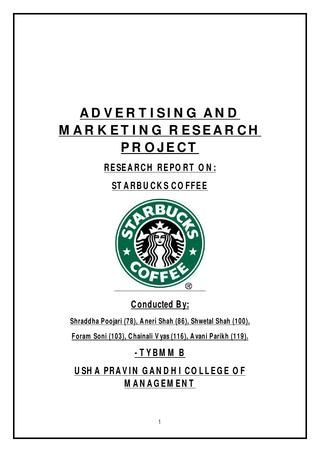Starbucks Media Plan  To The Communication And Marketing