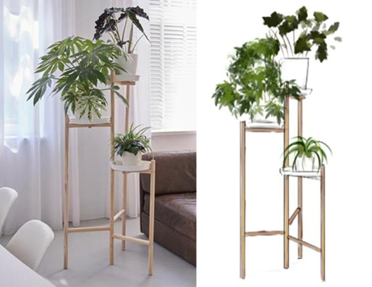 DIY: Plantentafel van bezemstelen - Eigen Huis en Tuin | interieur ...