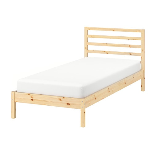 Tarva Pine Luroy Bed Frame Standard Single Ikea Twin Bed