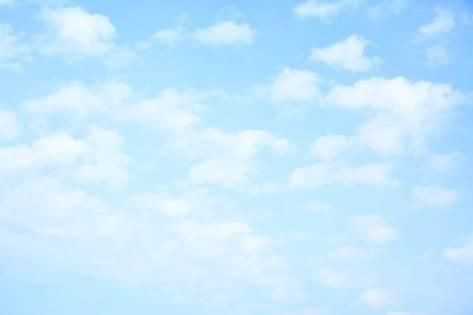 Photographic Print Light Blue Sky With Clouds May Be Used As