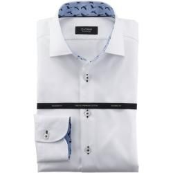 Photo of Olymp Signature Shirt, Tailored Fit, Signature Kent, White, 40 Olymp