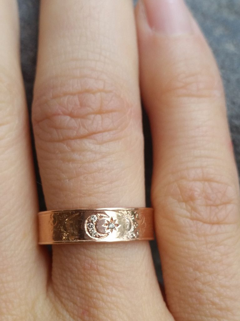 14k Moon Goddess Ring In 2018 Accessories Pinterest Jewelry