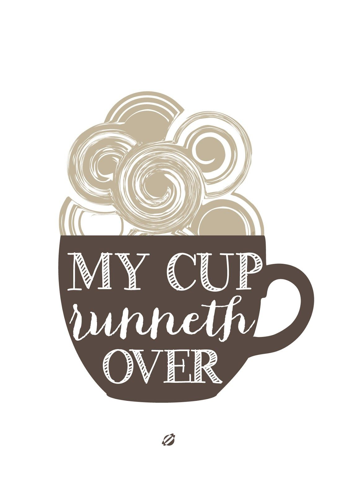 LostBumblebee ©2014 My Cup over Free Printable