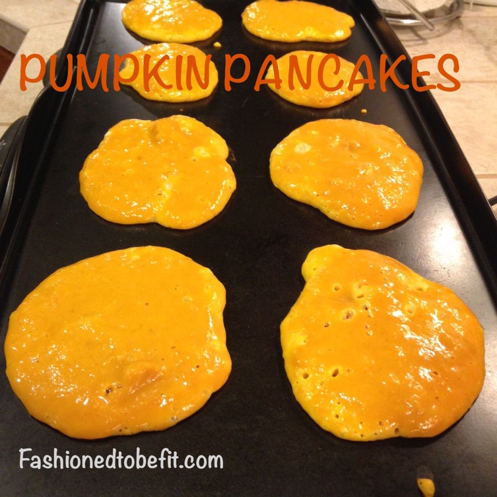 Pumpkin pancakes – Fashioned to Be Fit