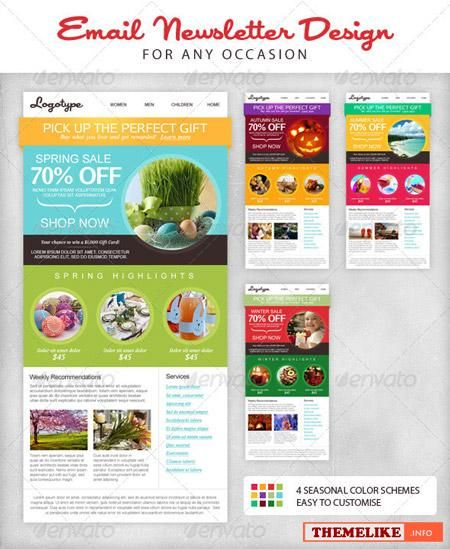 Health And Wellness Newsletter Template | Email Newsletter Design Google Search Health Wellness Design