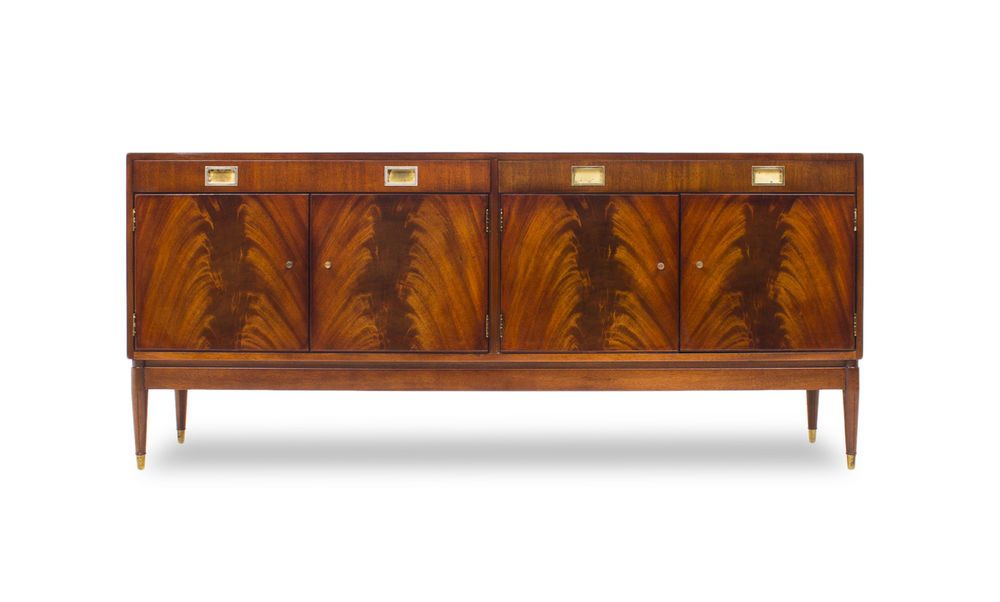 GREAVES & THOMAS ROSEWOOD CREDENZA SIDEBOARD MEDIA CENTRE #Contemporary