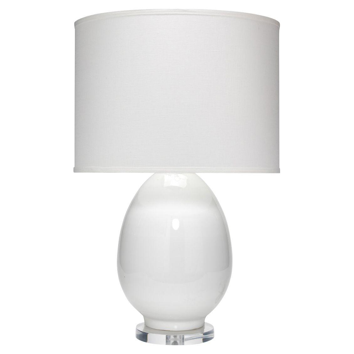 Cody Modern Classic White Glass White Linen Shade Table Lamp Table Lamp Lamp Table Lamp Design