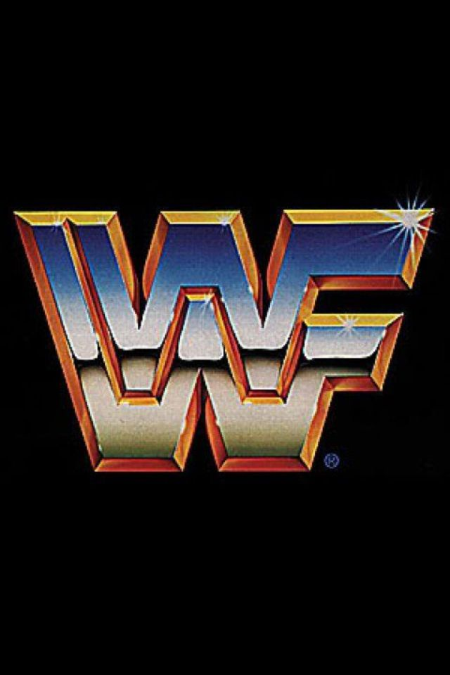 world wrestling federation logo retrolicious pinterest