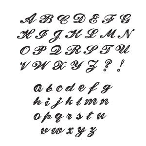 Fancy Cursive Letters Posted By Livlarger At 5 06 Pm Writing