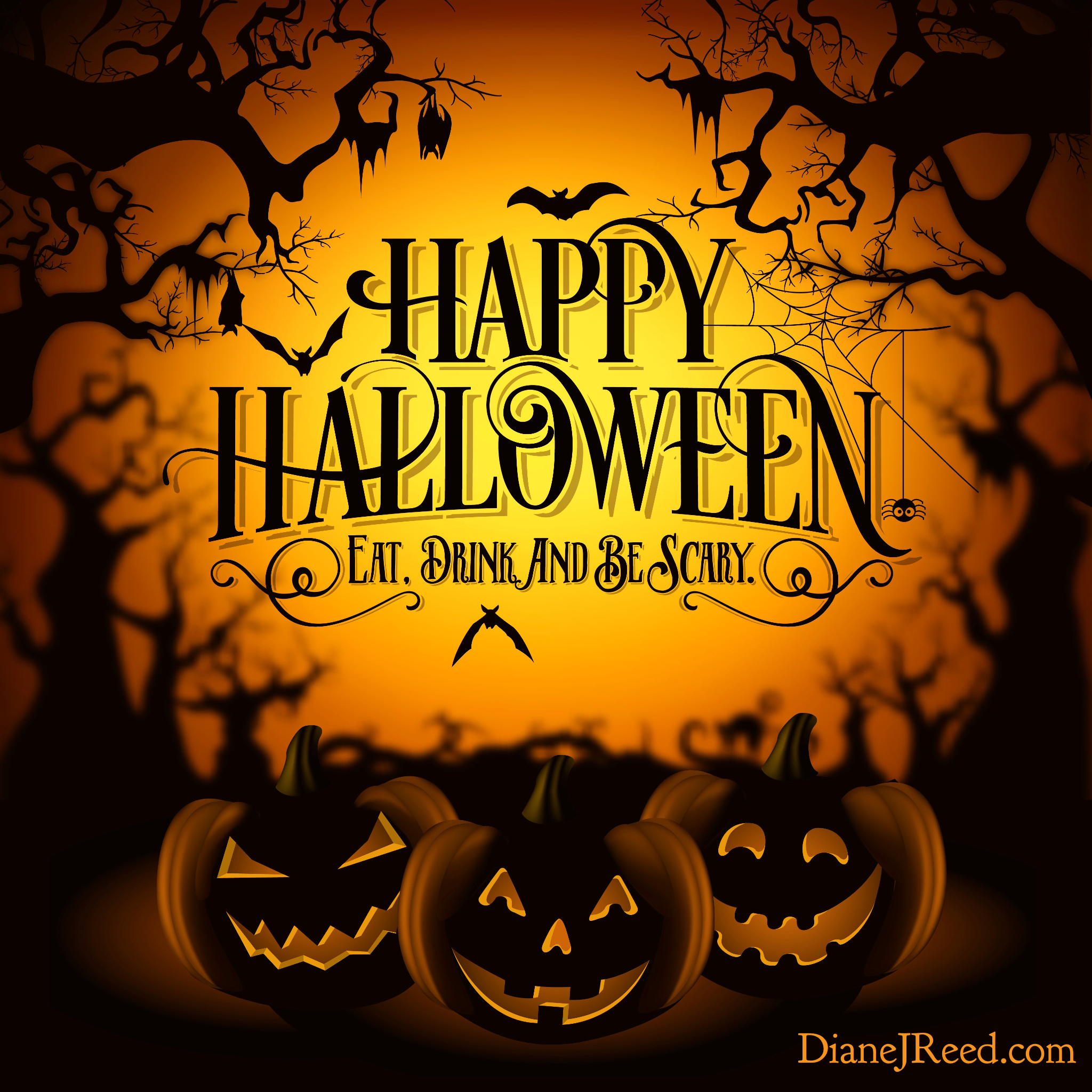 Happy Halloween! May your day be filled with spooky