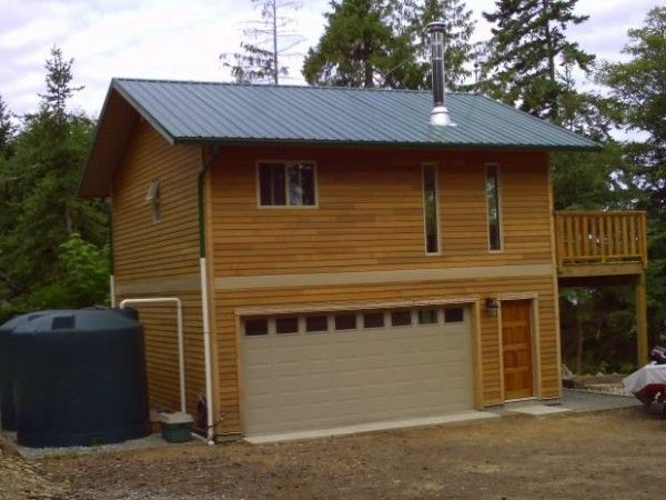 Tiny Home Designs: Garage Tiny House With Water Collection
