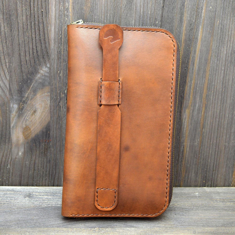 f82b7c250e8d Мужские сумки ручной работы. Кожаный клатч мужской на молнии. Мастерская  Bucephalus. Интернет-