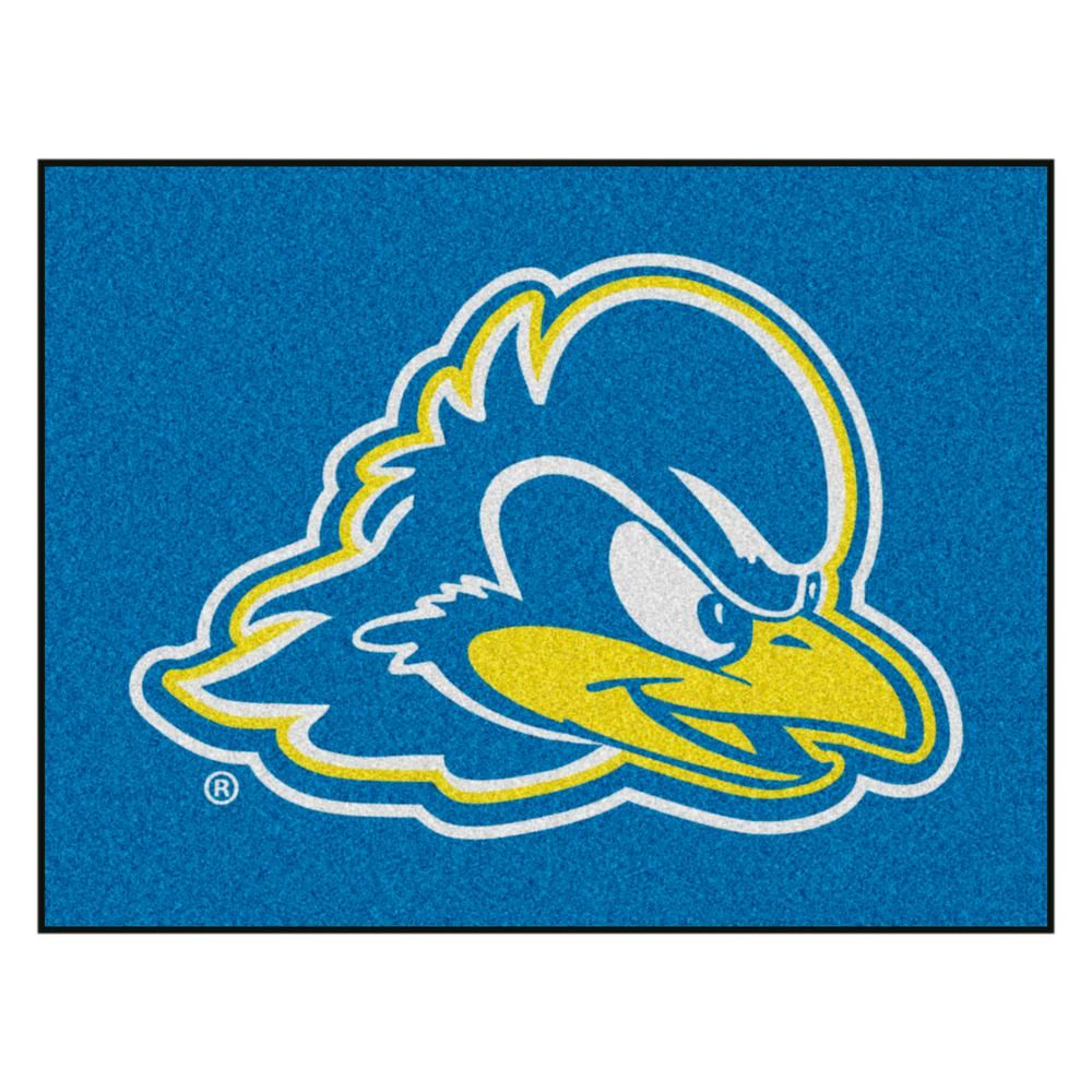 Fanmats Ncaa University Of Delaware Blue 3 Ft X 4 Ft Area Rug 2851 The Home Depot In 2020 University Of Delaware Team Colors Statement Rug