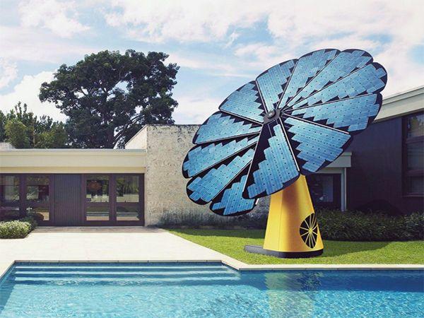Oubliez Les Panneaux Solaires Voici Le Tournesol Photovoltaique