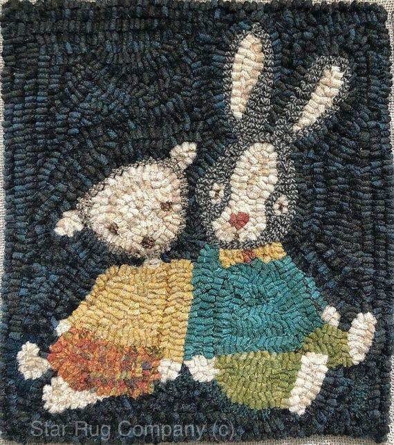 Star Rug Company ~ Easter Buddies ~   Rug Hooking Pattern