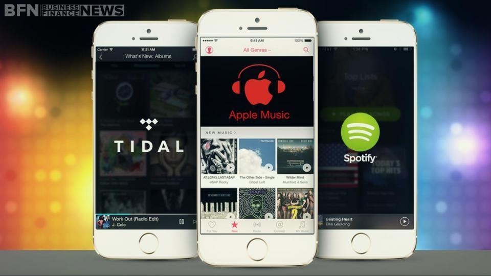 Idea By Business Finance News On Bfn Apple Inc Spotify Spotify Premium Apple Music