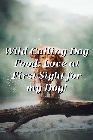 Sophie Slater Tells About Wild Calling Dog Food: Love at First Sight for my Dog!  #пекинес    #smalldogbreeds  #poddles  #MiniaturePinscher  #pets  #puppynames #recipes