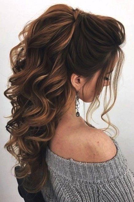 30 entzückende Pferdeschwanzfrisur   Penteados cabelo ...