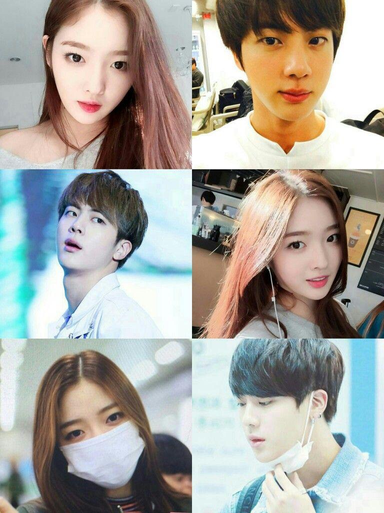 Ahn Eun Jindia Jin Bts Ahn Eunjin Pinterest Bts Jin Jin