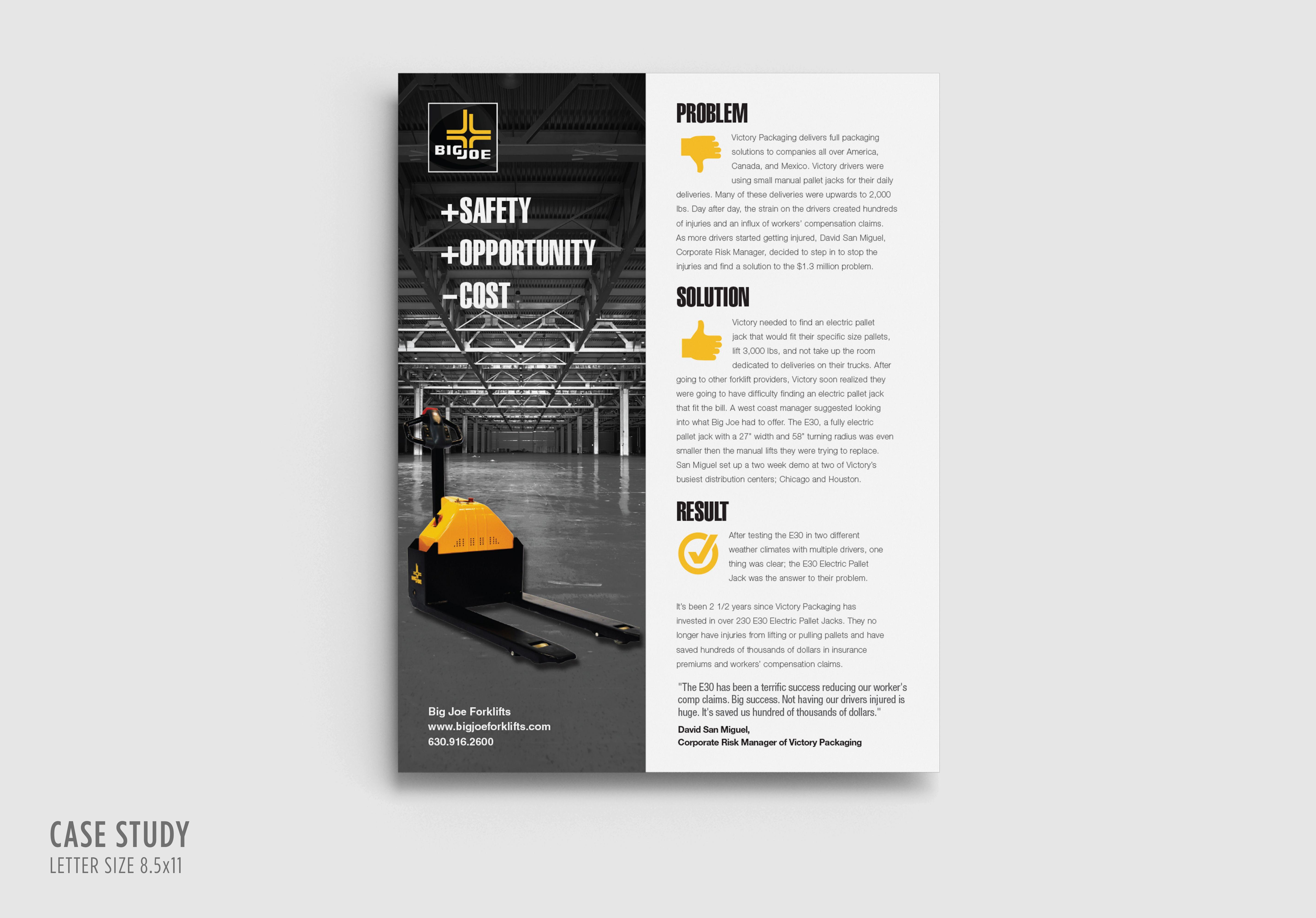 Bigjoe Casestudy 8 5x11 Case Study Design Case Study Marketing