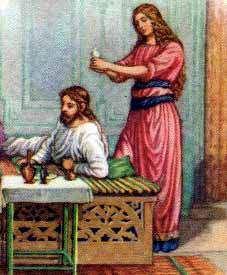 Nisan 9 Matthew 26 6 13 Woman With An Alabaster Jar Anointing