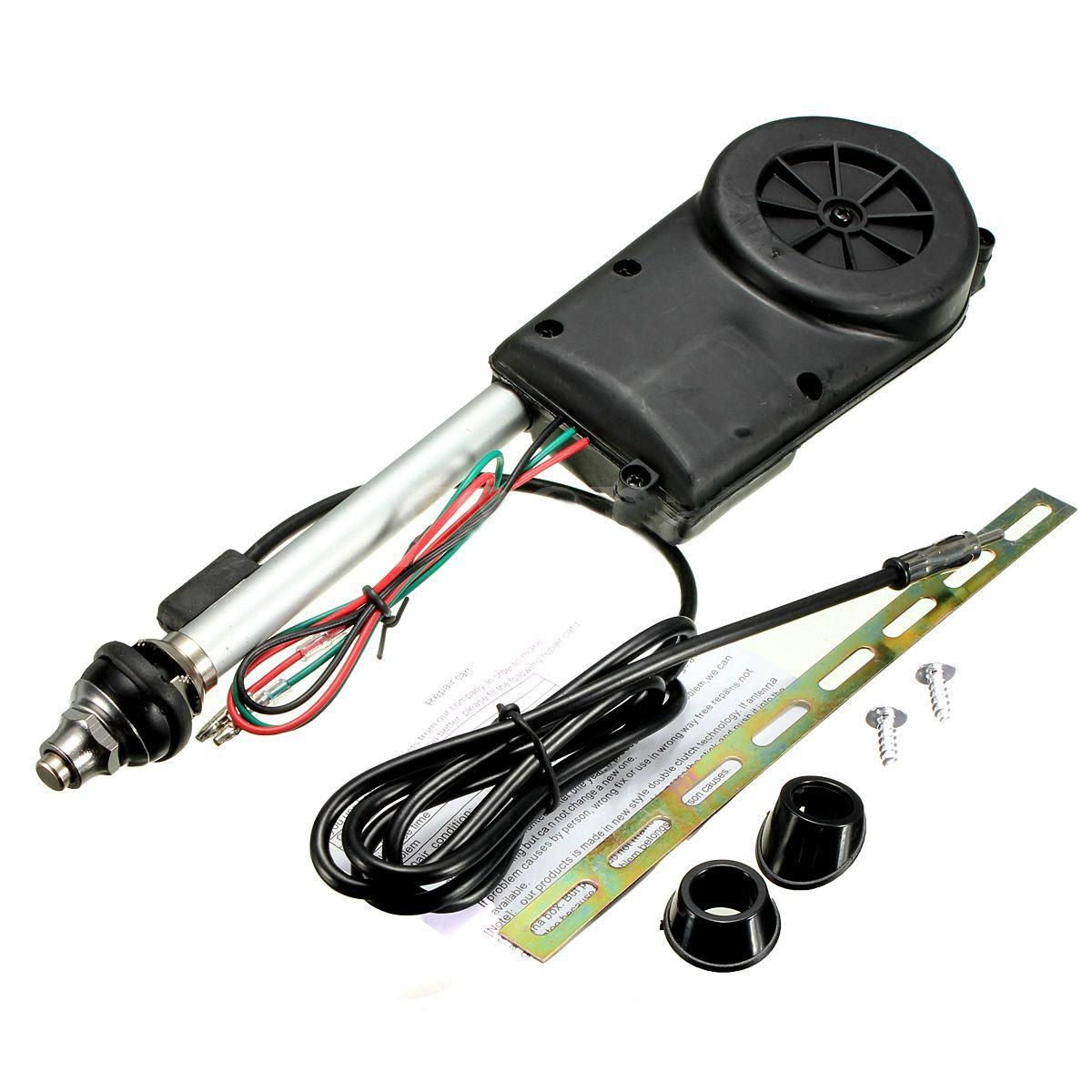 AUTO Car Electric Aerial Radio Automatic Booster Power