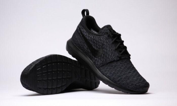 Nike Roshe Tous Roshes De Flyknit Noir