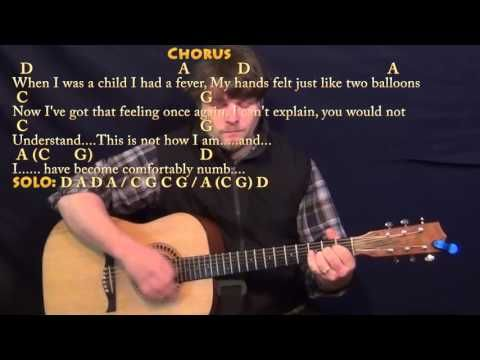 Comfortably Numb: Chords - Pink Floyd #1of4 (Songs Guitar Lesson ST ...