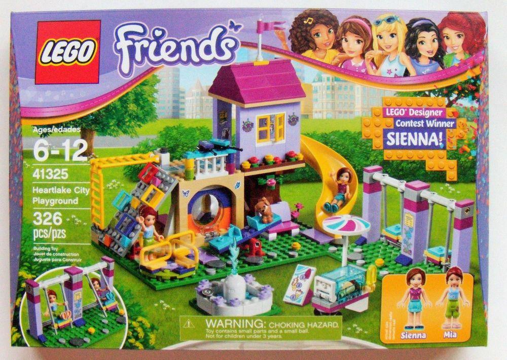 Lego Friends Heartlake City Playground 2017 41325 New