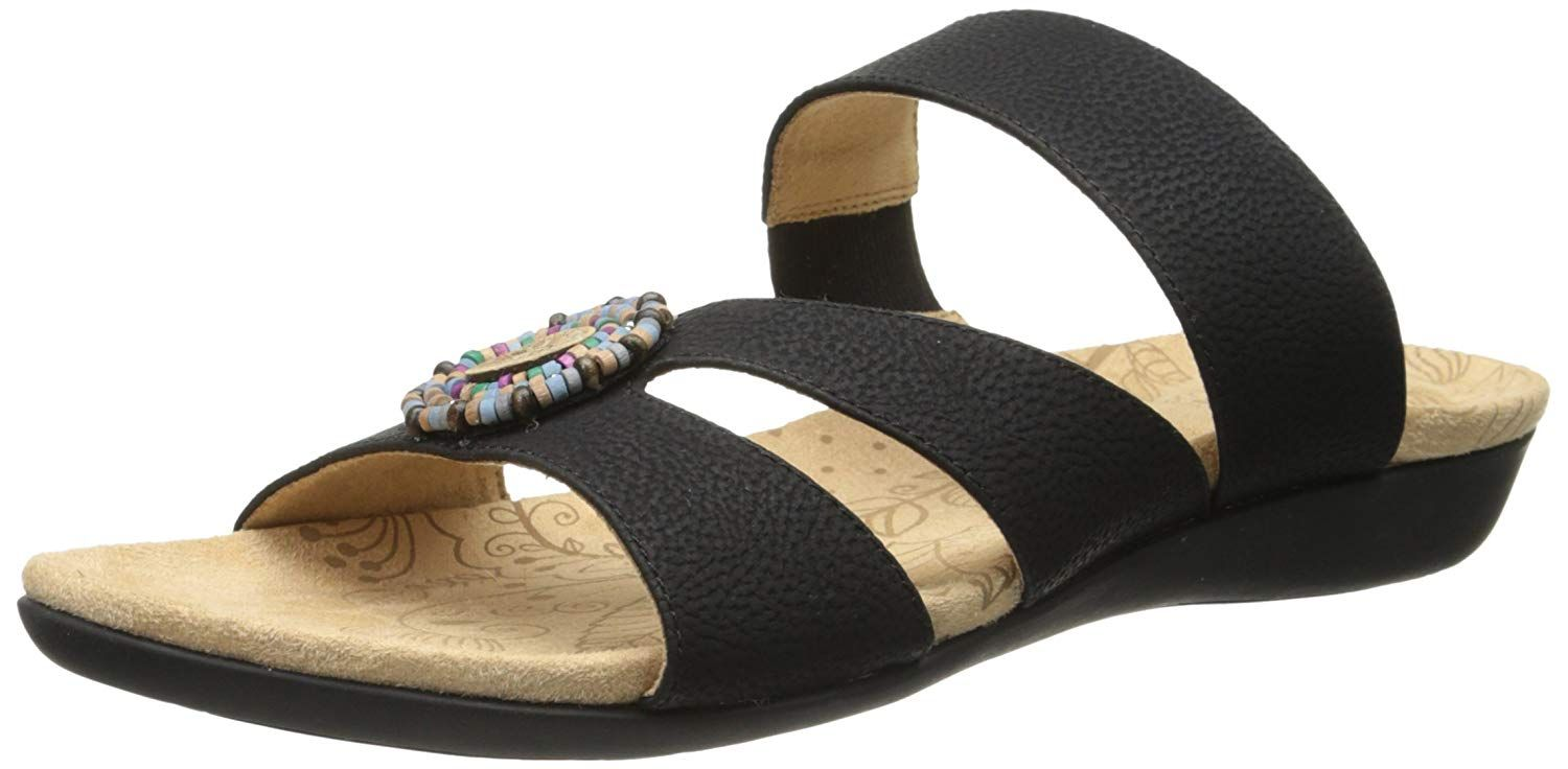 650f3c7069d Feel as sprightly as a spring day in the Acorn Samoset Slide sandal.  Women s Shoes