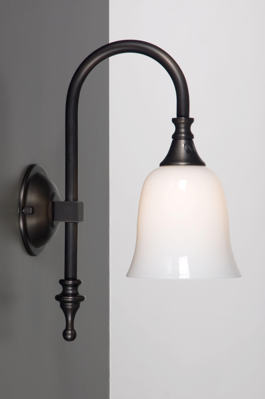 Klassieke badkamerlampen brons voor bij uw landelijke ...
