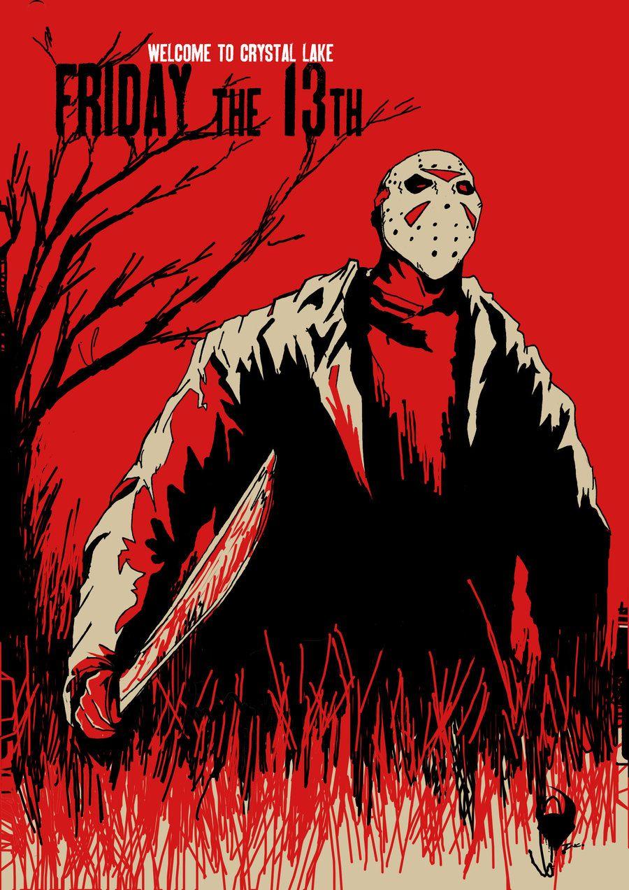 friday 13th jason by killerincdesigns.deviantart.com on @deviantART