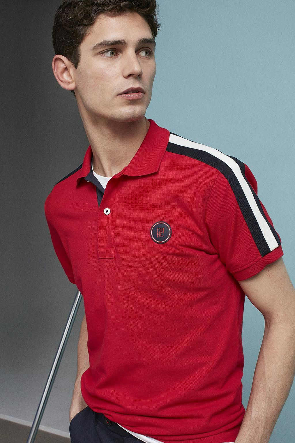 8c9ede2da2 CH carolina herrera jogging #MensT-shirts   Uppers   Mens polo t ...
