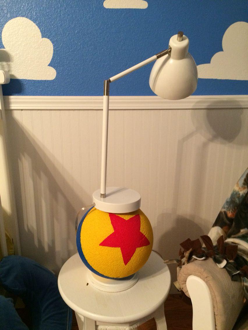 Luxo Jr Lamp Disney Room Decor Toy Story Room Toy Story Bedroom