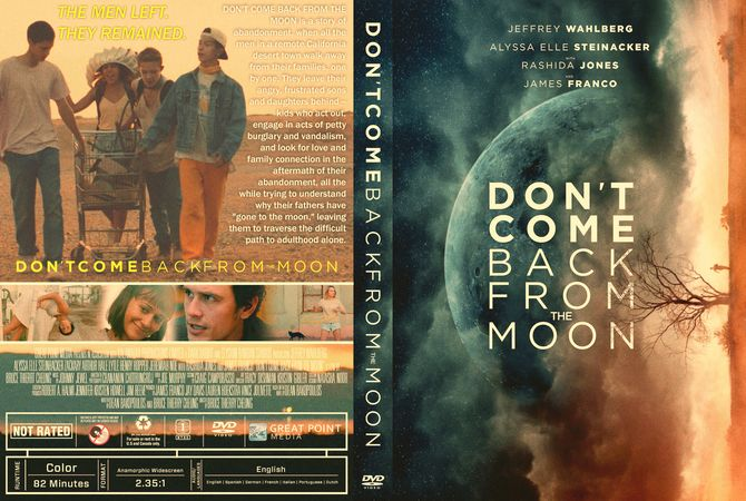 dont come back from the moon novel