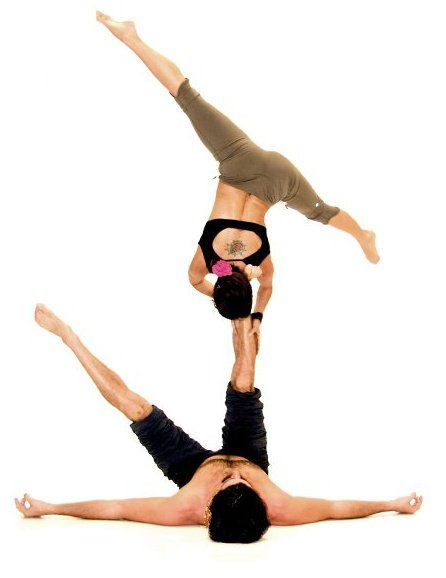 Yoga Poses For One Person Hard : poses, person, Legged, Reverse, Star., For2013, Crazy, Poses,, Poses