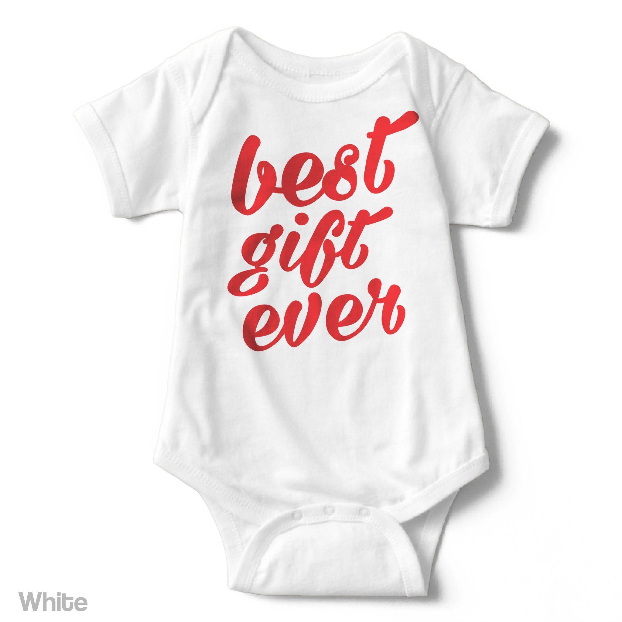 Best Gift Ever - Short Sleeve Infant Creeper
