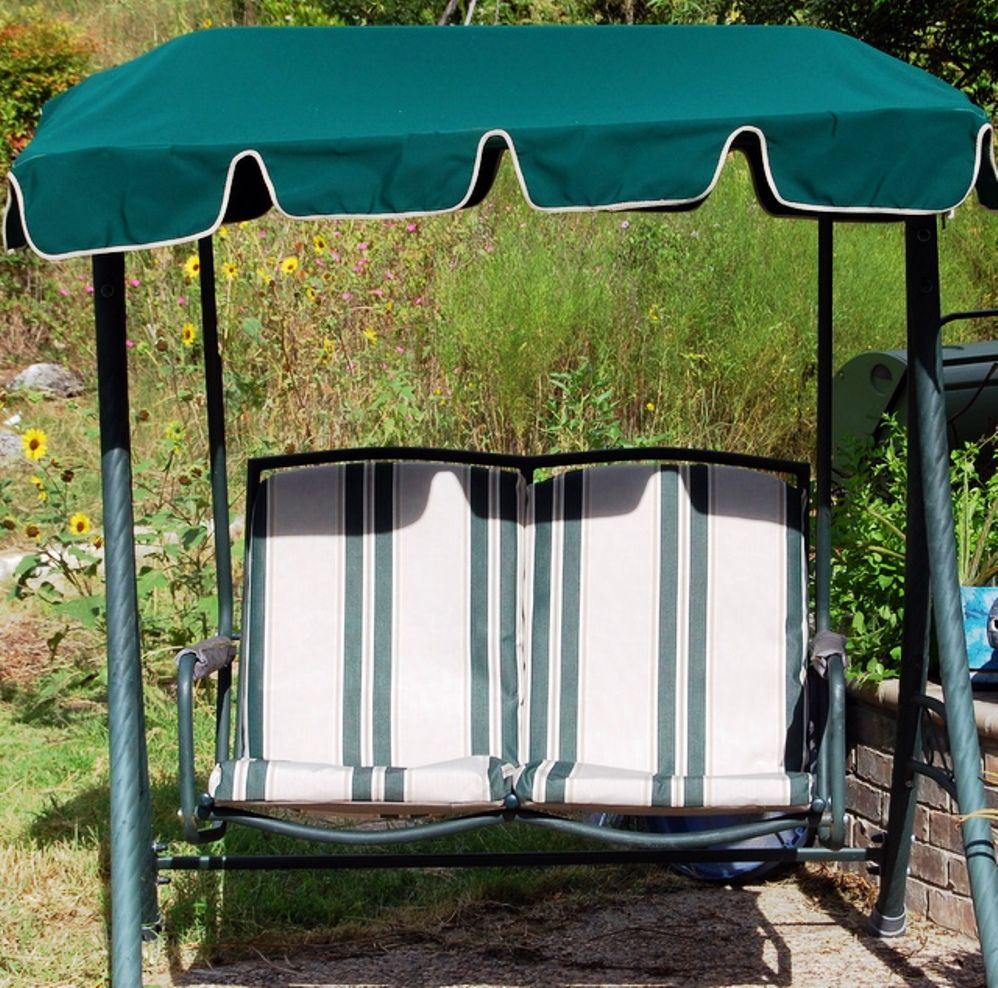 2 Seat Patio Swing From Walmart Refurbished With