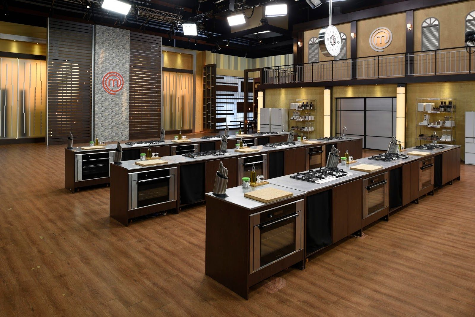 Uncategorized Masterchef Kitchen Design state of the art cook stations equipment and every culinary tool imaginable kitchen is a chefs dream canadian masterchef