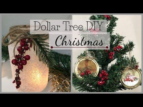 763 Christmas Dollar Tree Diy 2018 Youtube She Shed Ideas And