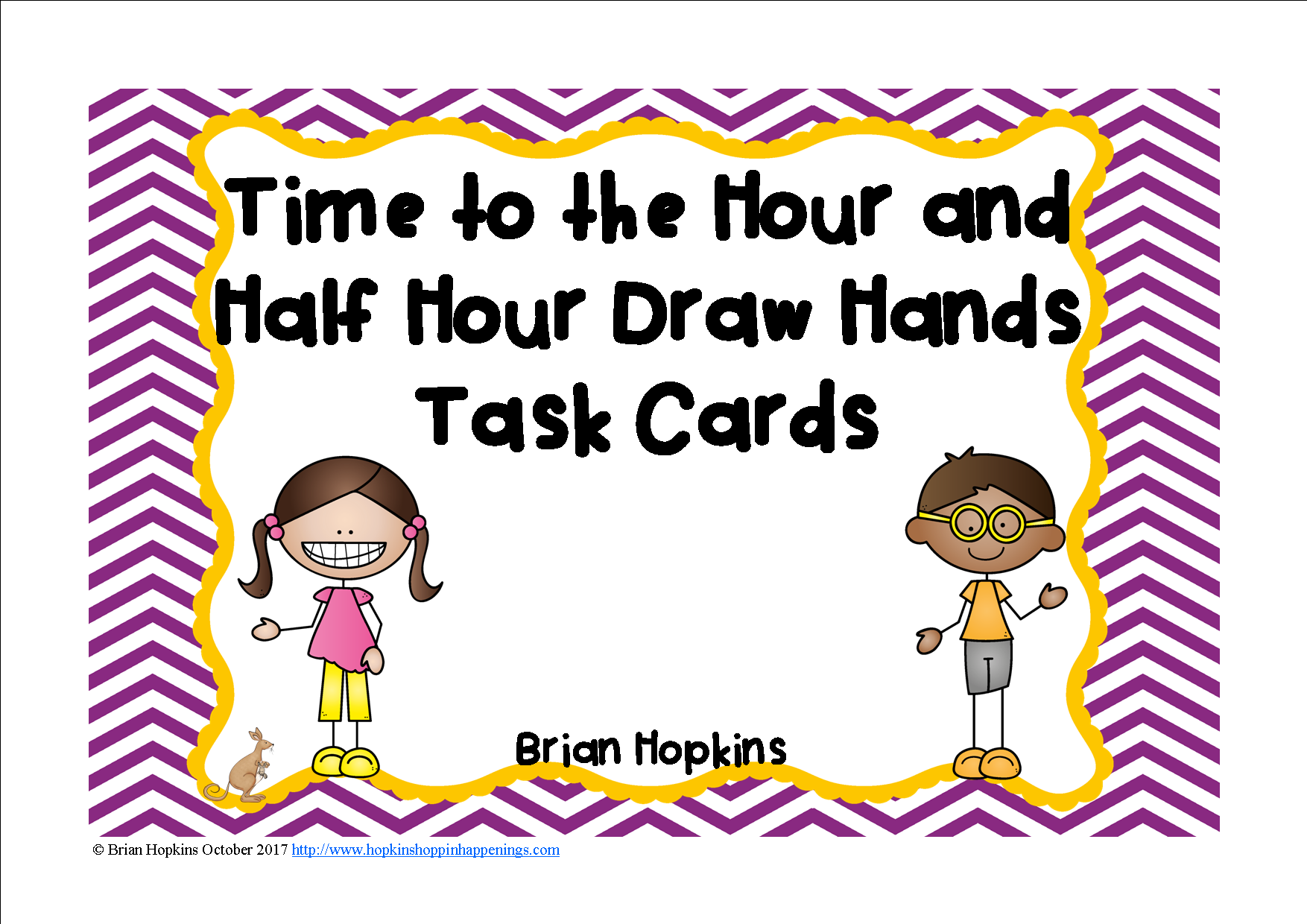 Time To The Hour And Half Hour Drawing Hands On Clock Task